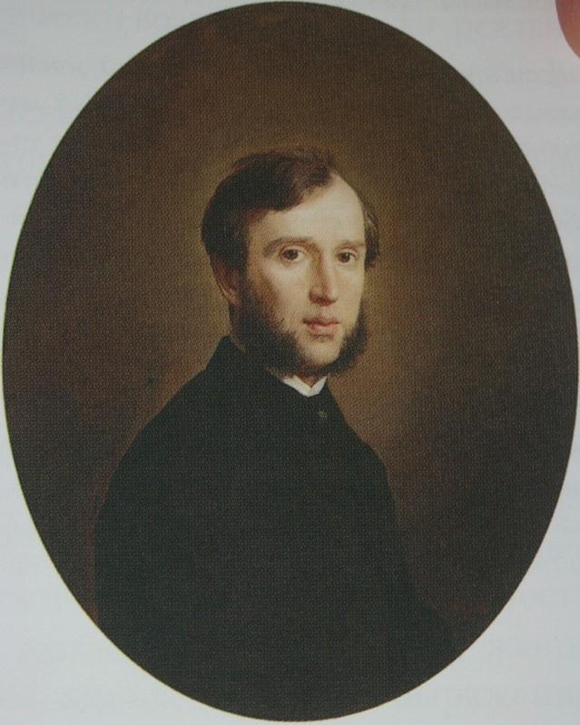 Николай Васильевич Неврев. Мужской портрет. 1861