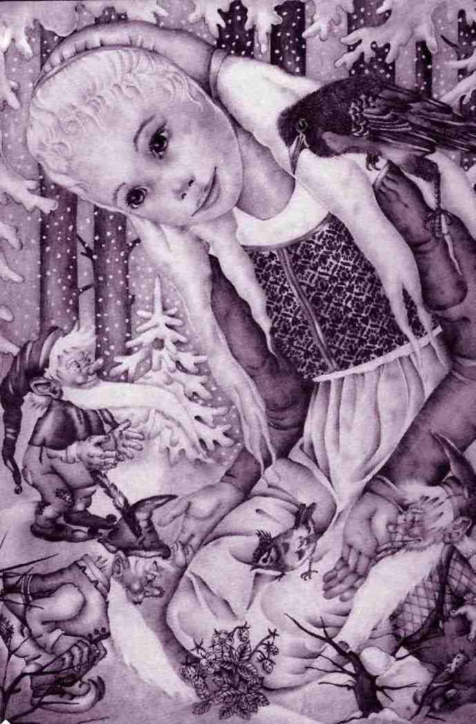 Адриенн Сегур. Три гнома из леса