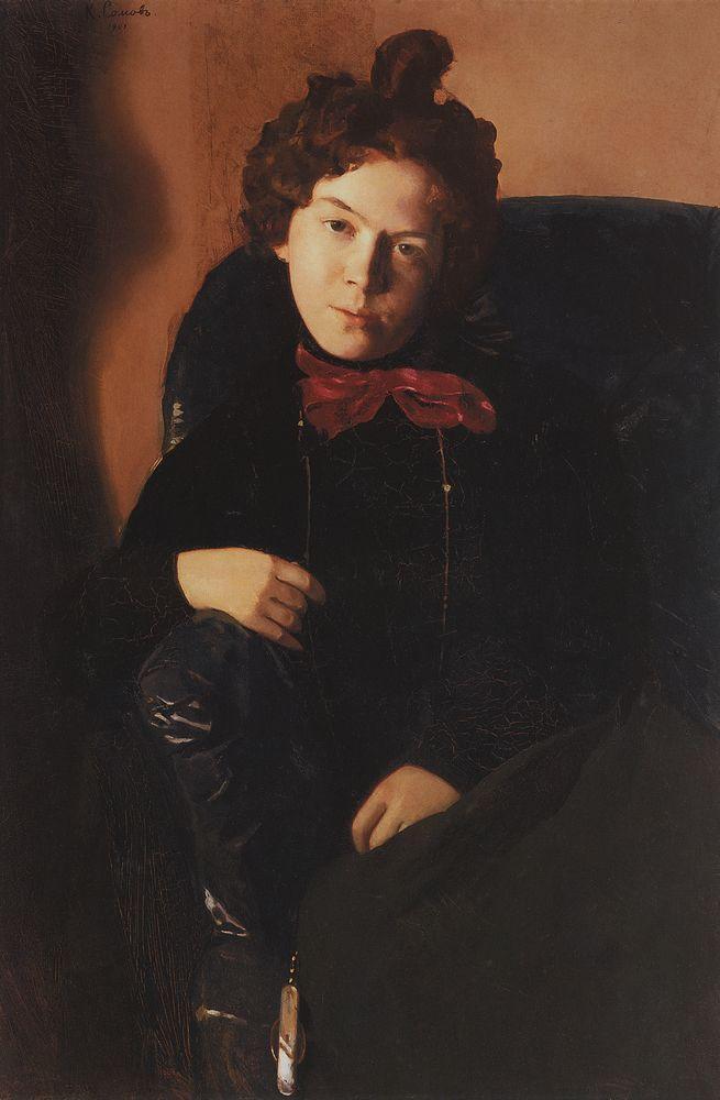 Константин Андреевич Сомов. Портрет Остроумовой