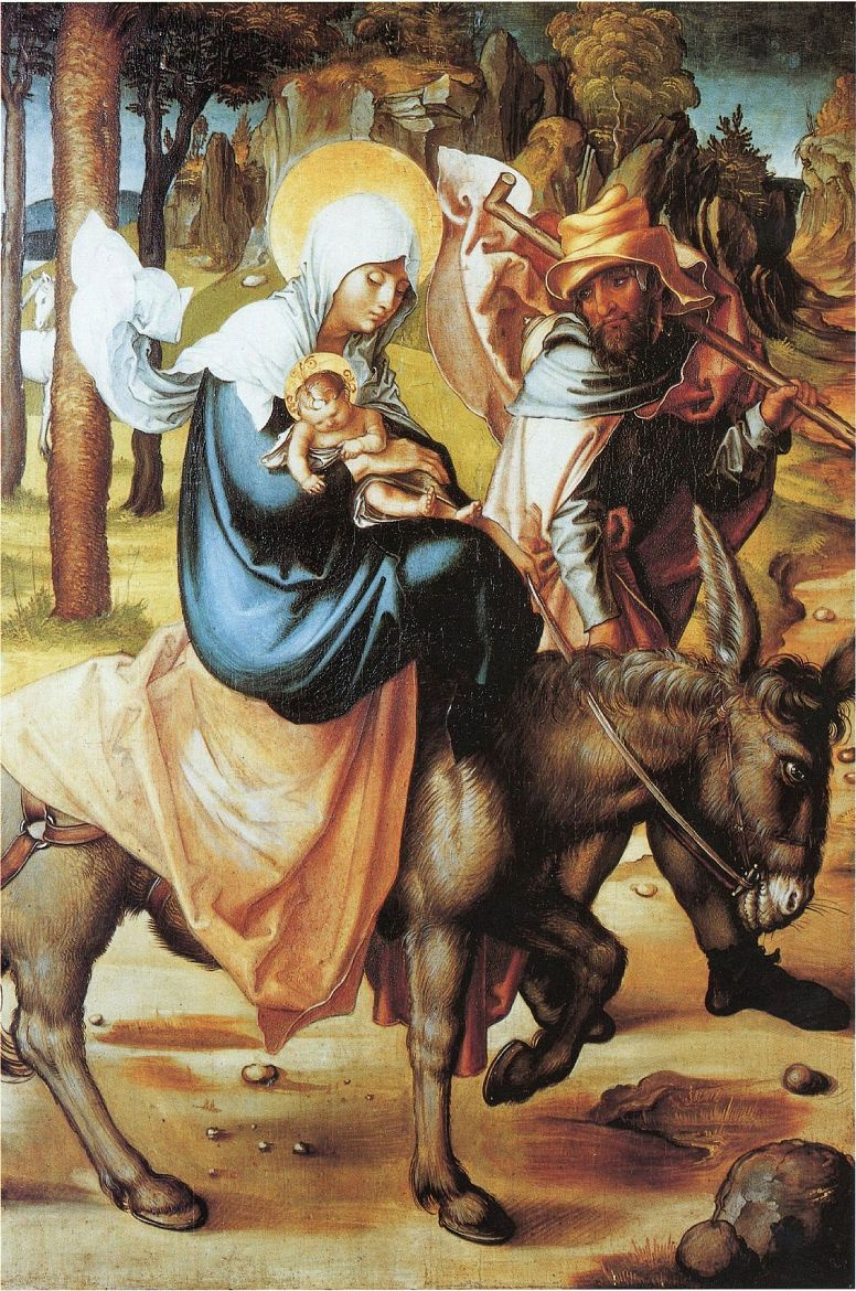 Albrecht Durer. The flight into Egypt