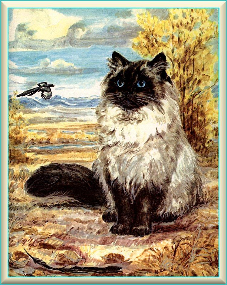 Marge Opitz Buridg. Cat art 3