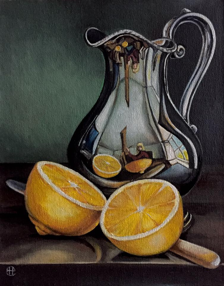 Hope Sosnovikova. Jug with lemon