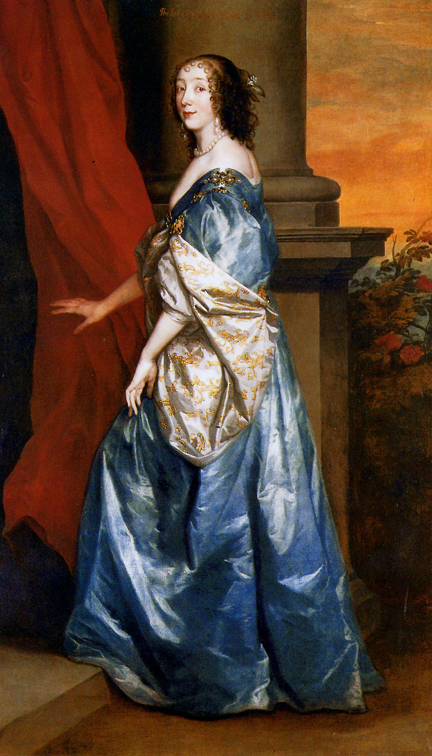 Anthony van Dyck. Lucy Percy, Countess of Carlisle