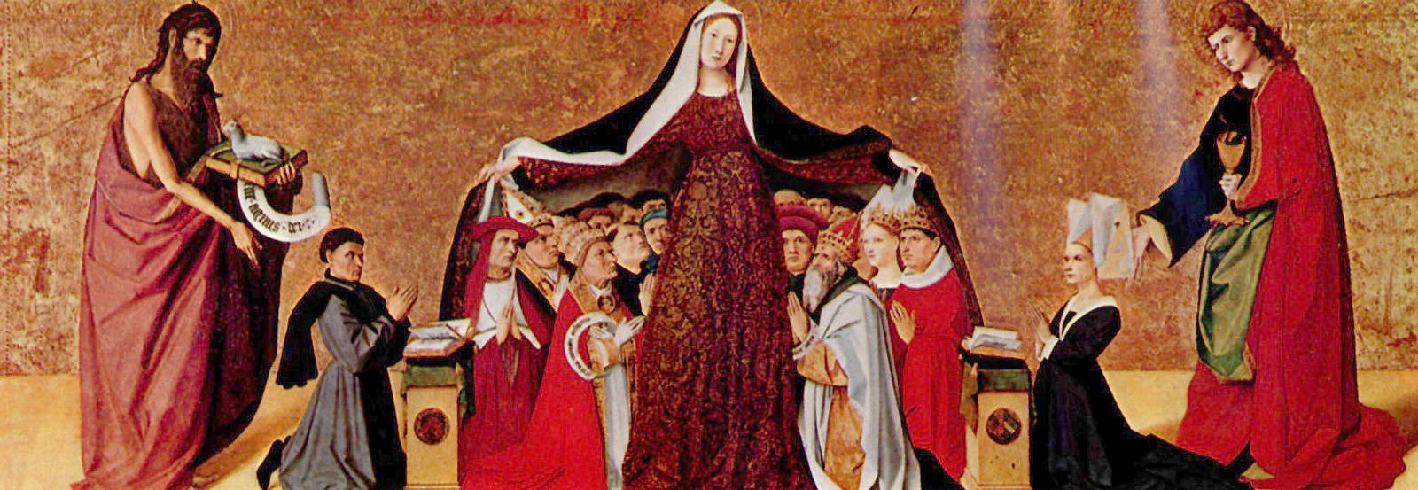 Ангерран Шаронтон. Покров Девы Марии