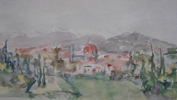 Наташа Чубарова. Флоренция весной