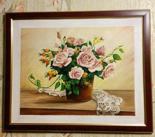 Elena Lobanova. Flowers as a gift