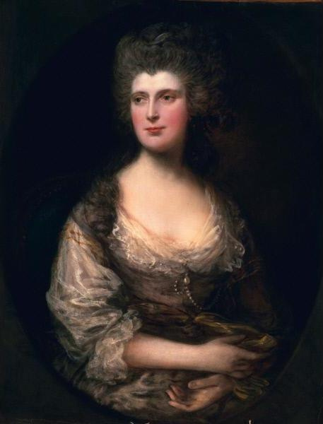 Thomas Gainsborough. The Honourable Anne Batson FEIN