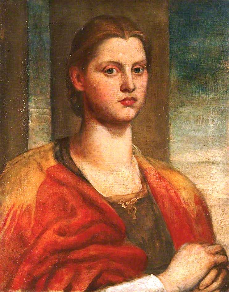 George Frederick Watts. Portrait