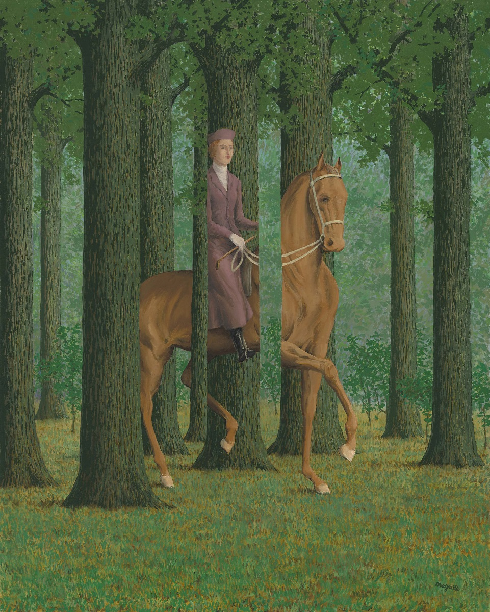 René Magritte. The Blank Signature