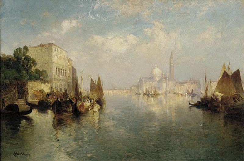 Thomas Moran. Venice