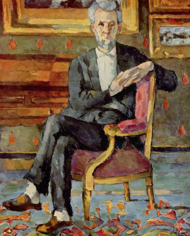 Поль Сезанн. Портрет сидящего Виктора Шоке
