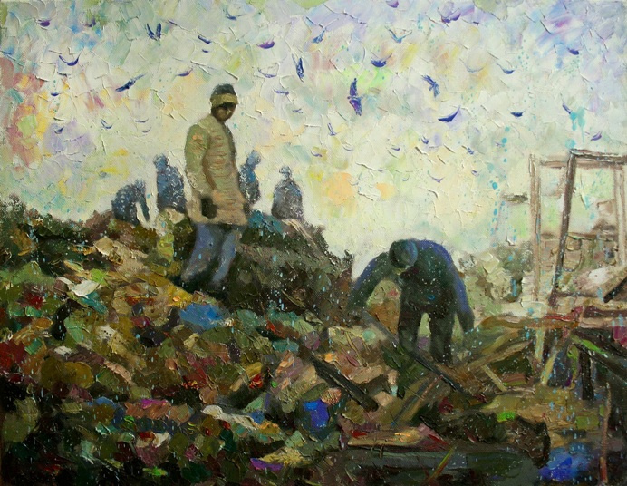 Mikhail Rudnik. Landfill No. 5