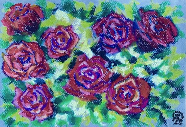 Larissa Lukaneva. Roses