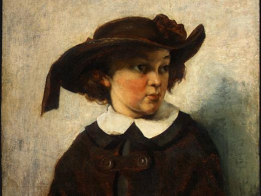 Гюстав Курбе. Портрет молодой девушки