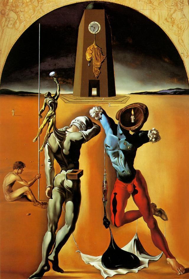 Salvador Dali. Poetry of America