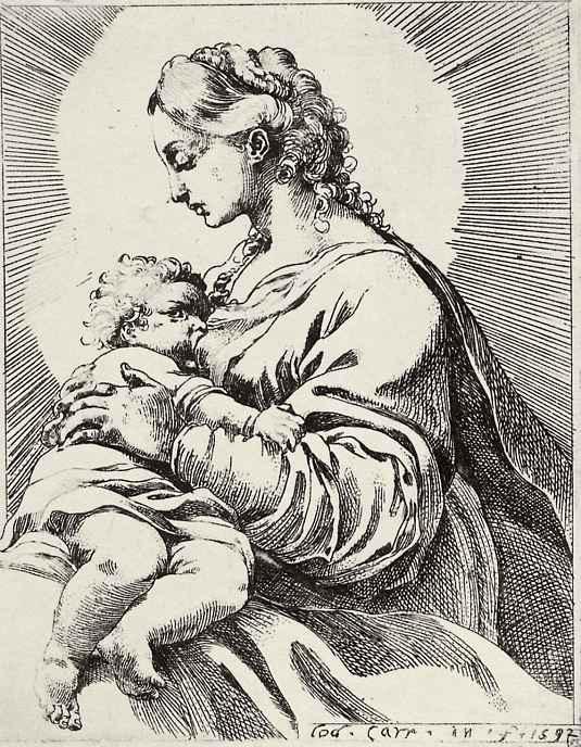 Лодовико Карраччи. Дева Мария