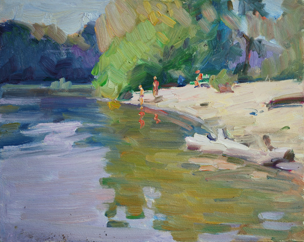 Lena Kurovska. Summer Landscape