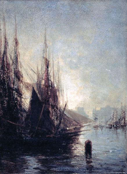 Алексей Петрович Боголюбов. Гавань в Генуе