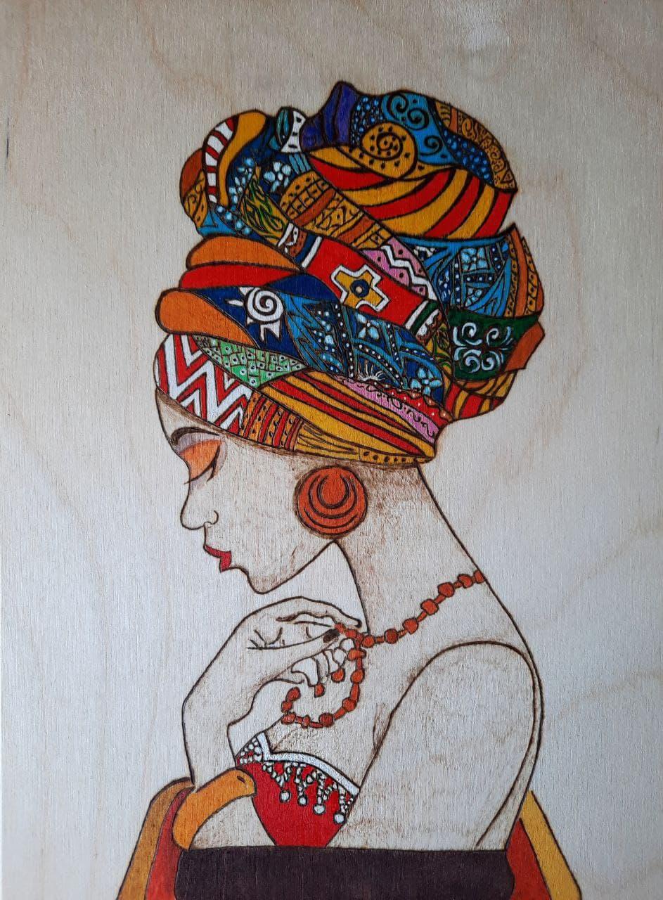 Ангелина Андреевна Гладышева. Принцесса Африки