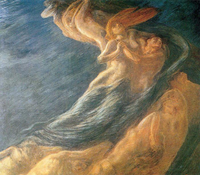 Gaetano Previati. Tenderness