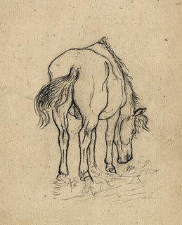 Александр Александрович Дейнека. Лошадь