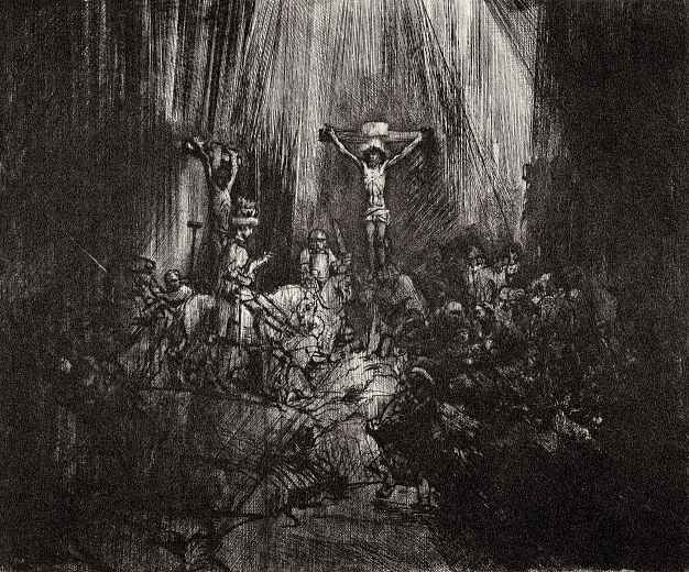 Рембрандт Ван Рейн. Три креста