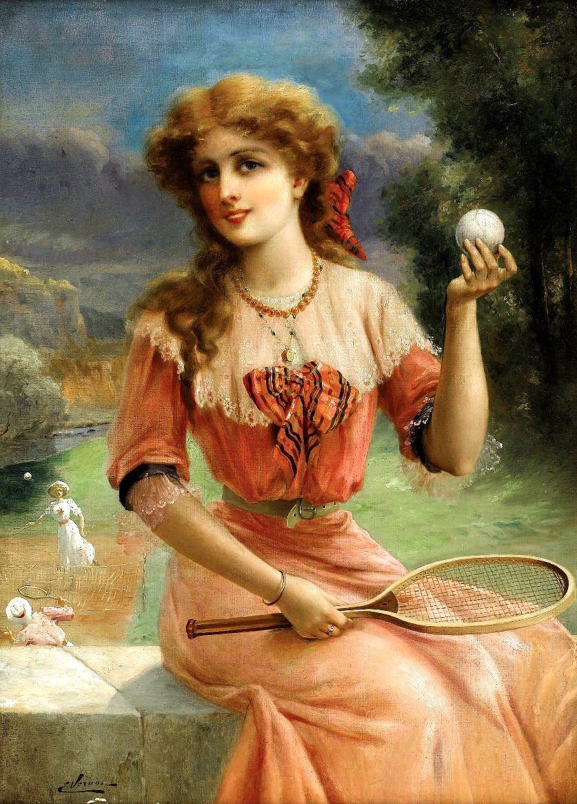 Emile Vernon. Tennis ball.