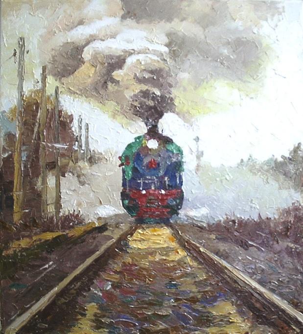 Михаил Рудник. Locomotive