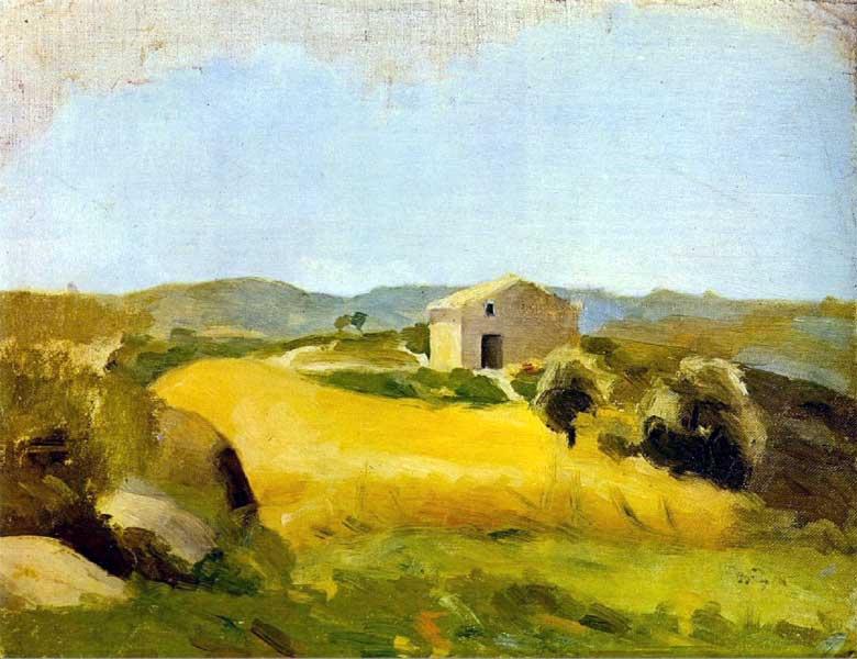 Пабло Пикассо. Сельский пейзаж