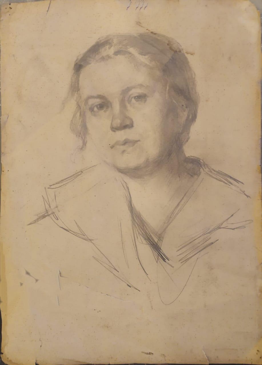 Sofya Ludwigovna Zaklikovskaya. Portrait