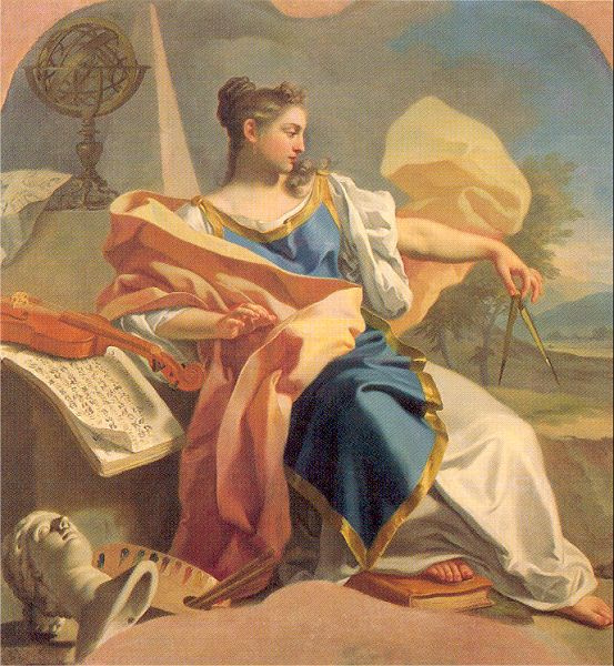 Франческо де Мура. Дама со скрипкой