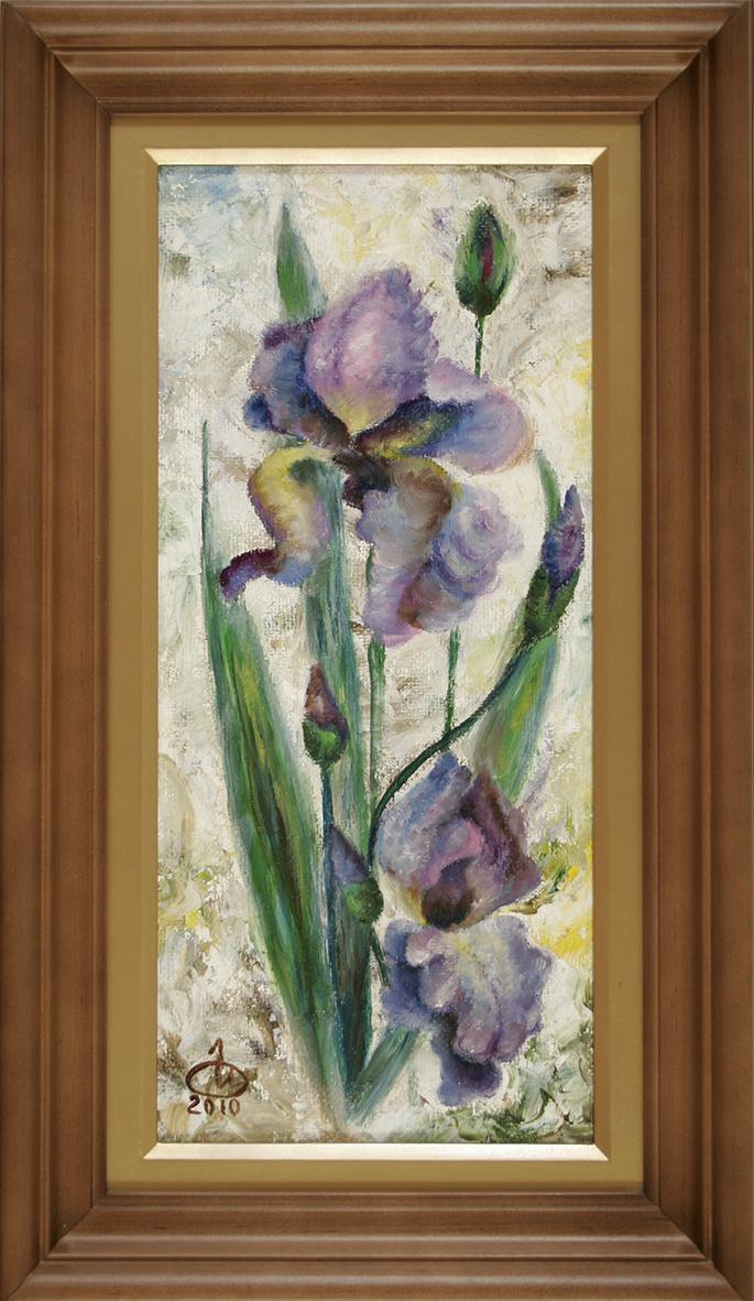 Inna Anatolyevna Ovcharuk. Irises