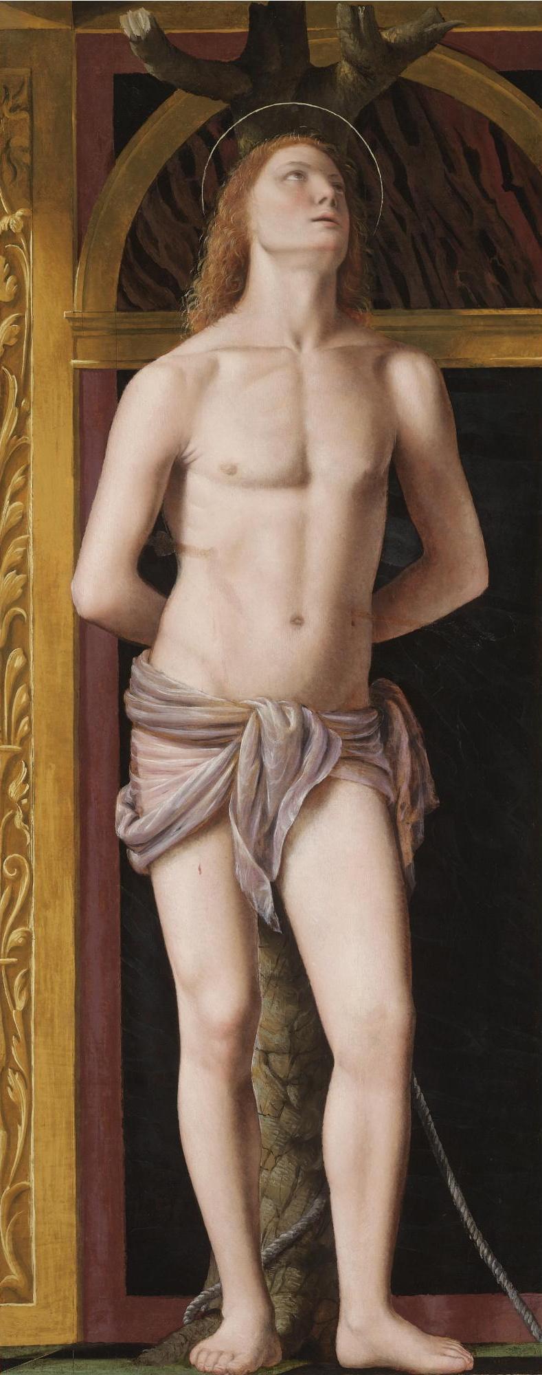 Бернардино Луини. Святой Себастьян