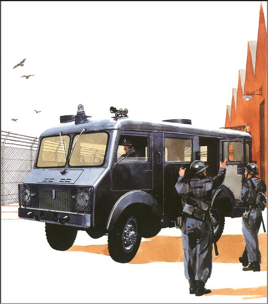 Patrick van der Straight. Gendarmerie
