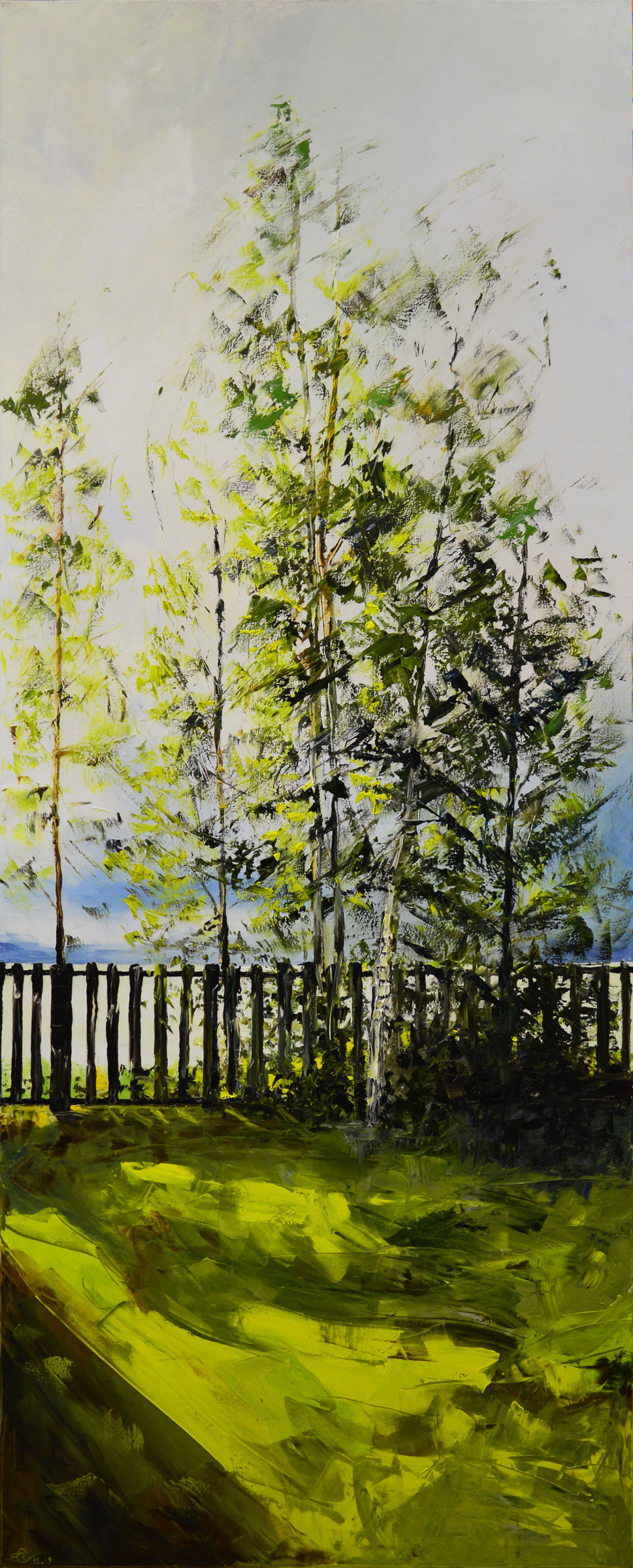 Vadim Anatolyevich Stolyarov. Sun and wind