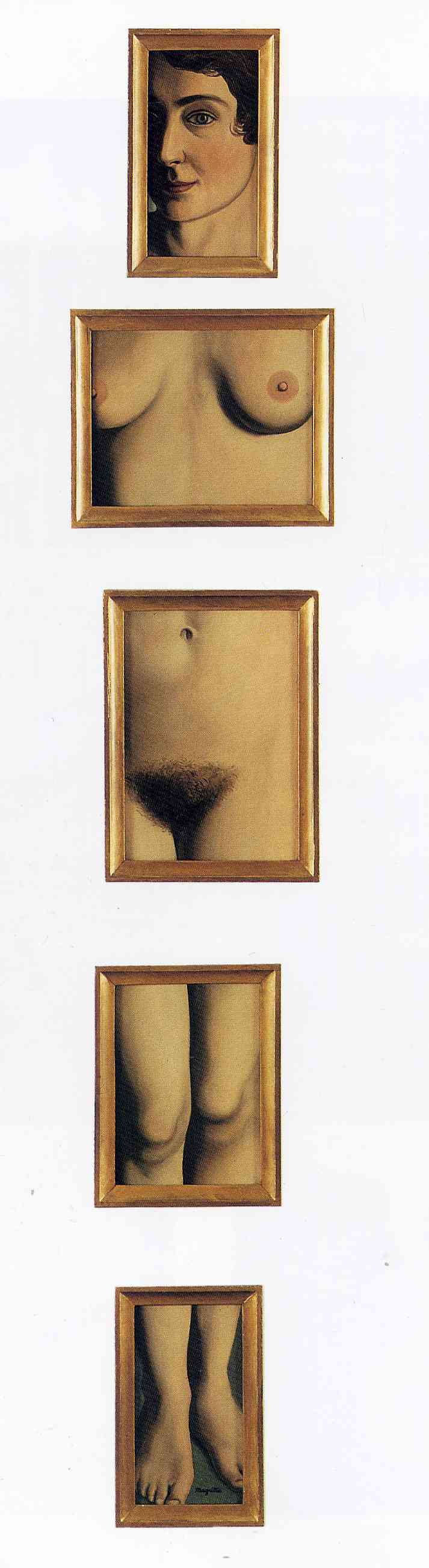 René Magritte. Eternal proof