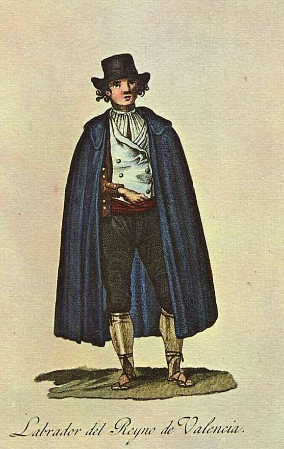 Хуан де ла Крус Кано-и-Ольмедилья. Крестьяне из королевства Валенсия