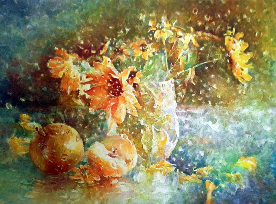 Alexey Yuryevich Maslov. Autumn still life