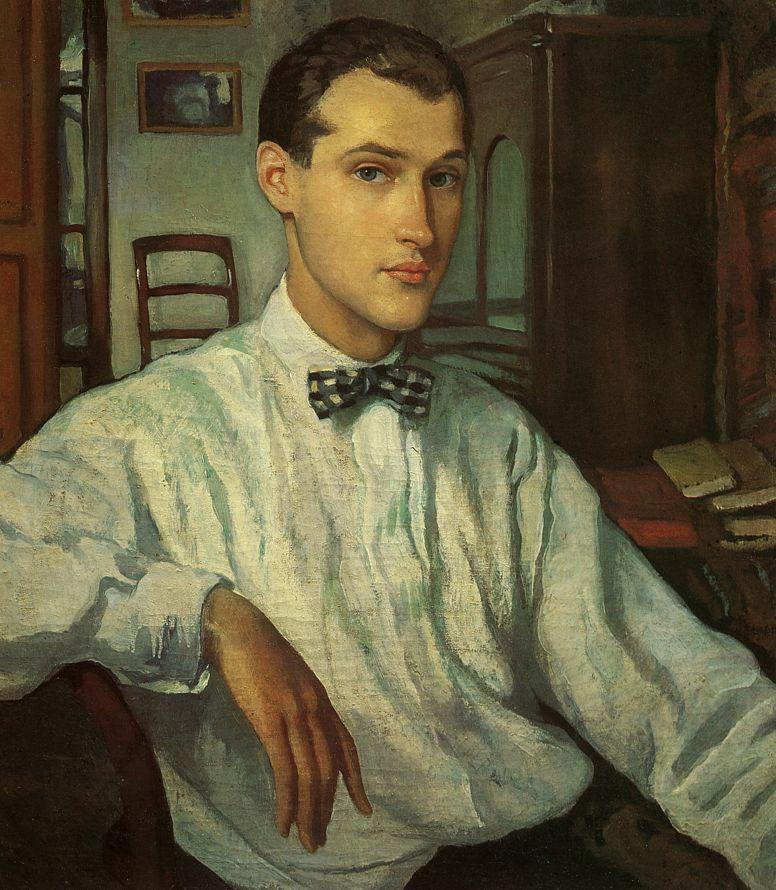 Zinaida Serebryakova. The Portrait Of S. R. Ernst