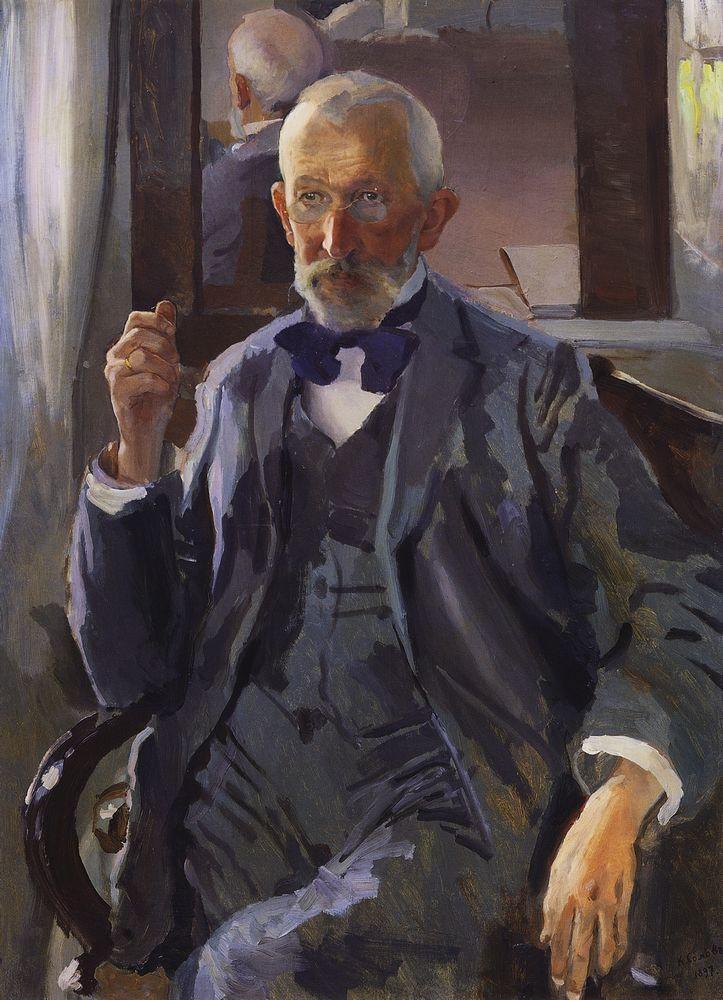Константин Андреевич Сомов. Портрет Сомова, отца художника