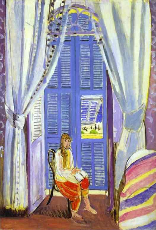Анри Матисс. Французское окно в Ницце