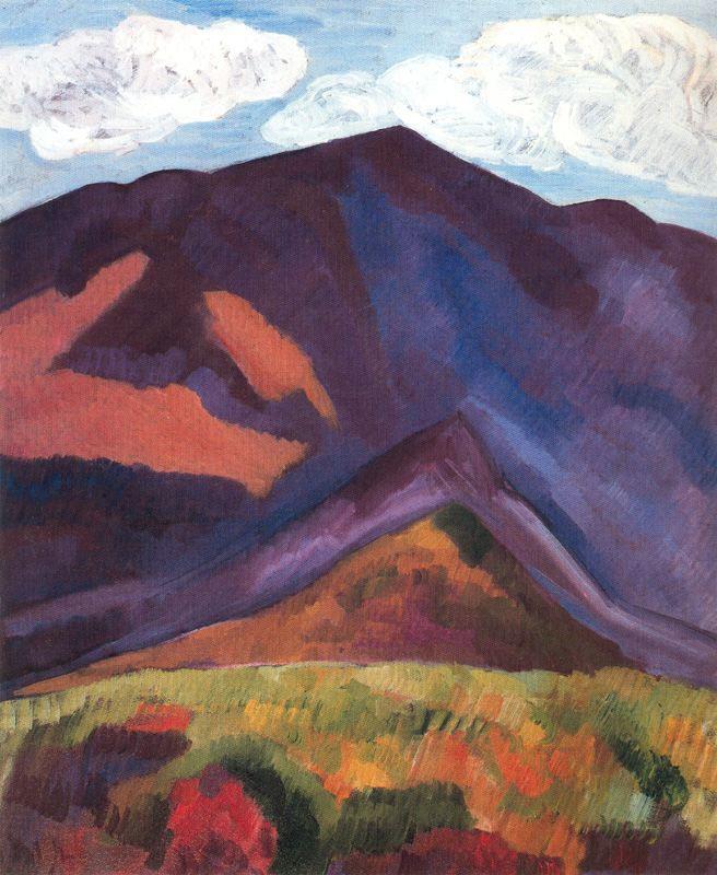 Marsden Hartley. Mountains