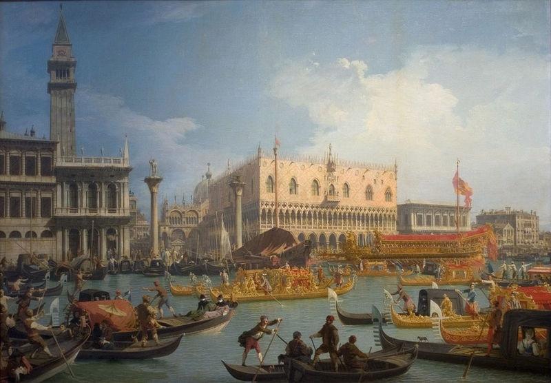 Джованни Антонио Каналь (Каналетто). Праздник обручения венецианского дожа с Адриатическим морем