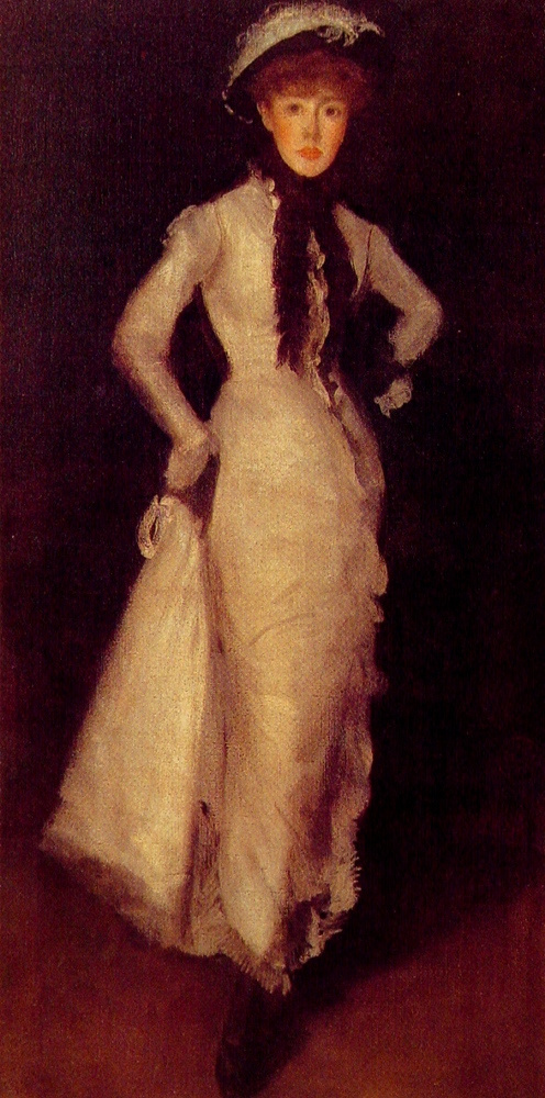James Abbot McNeill Whistler. Composition in black and white