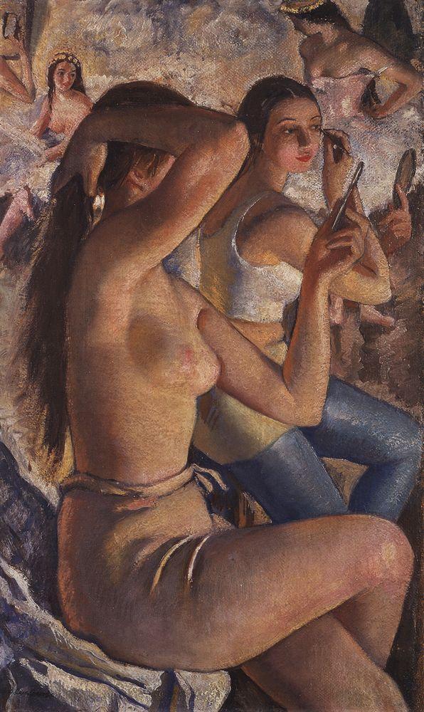 Zinaida Serebriakova. Ballet restroom