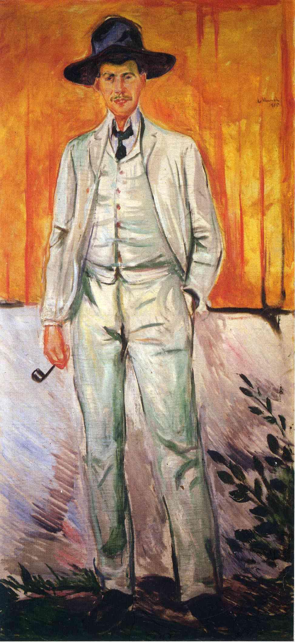 Edvard Munch. Ludwig Karsten