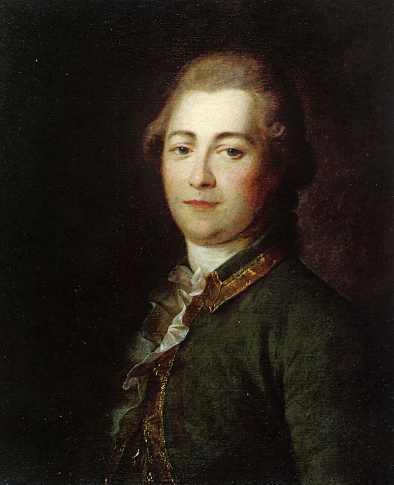 Дмитрий Григорьевич Левицкий. Портрет неизвестного