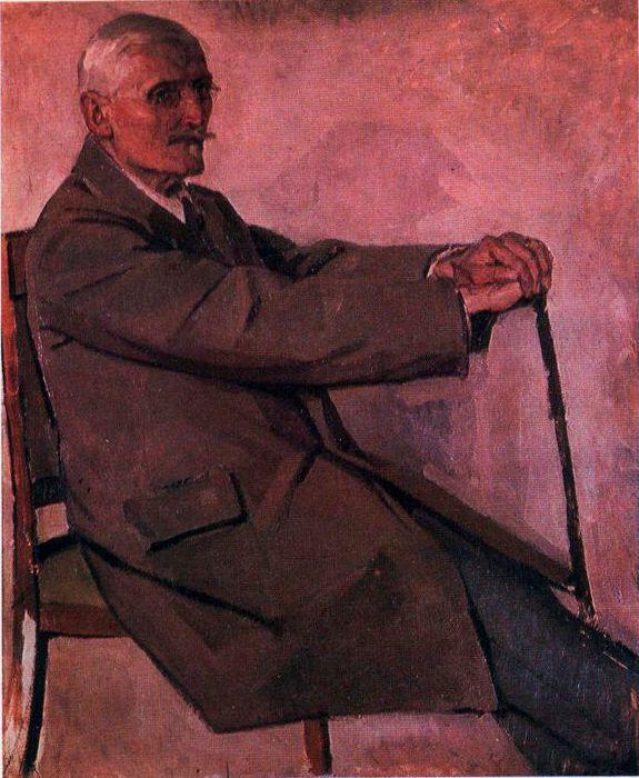 Fedor Grigorievich Krichevsky. Portrait of Professor G.G. Pavlutsky
