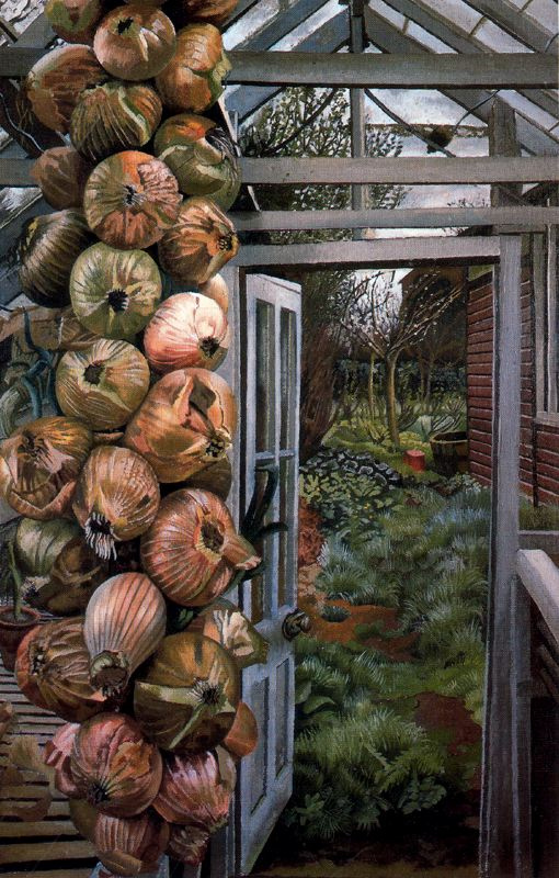 Stanley Spencer. A door