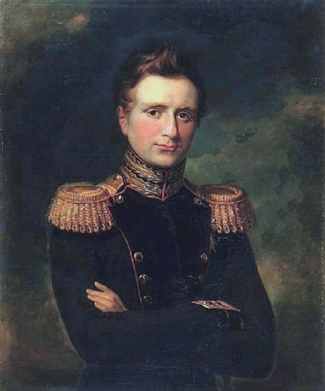 George Dow. Portrait of Grand Duke Mikhail Pavlovich